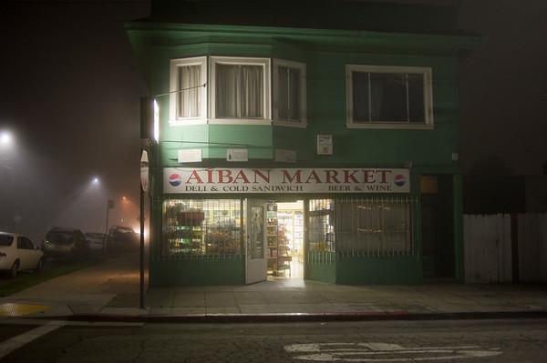Foggy Night in my hood
