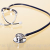 Stethoscope on Gold