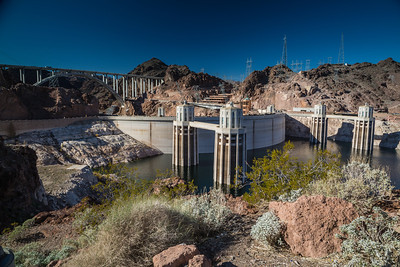 Hoover Dam Intake Towers