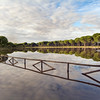 San Lazaro pool near Donana marshland, Villamanrique, Seville, Spain