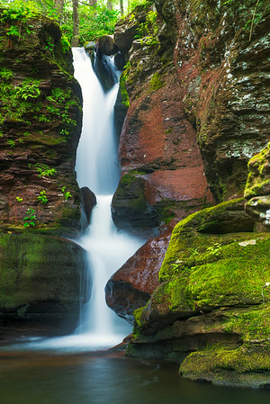 """Adams Falls"" - Ricketts Glen State Park, PA   Recommended Print sizes*:  4x6  