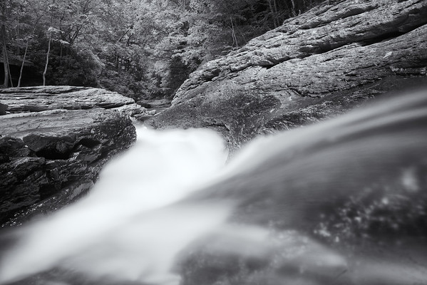 """""""Sliding Away"""" - Ricketts Glen State Park   Recommended Print sizes*:  4x6      8x12     12x18     16x24     20x30     24x36 *When ordering other sizes make sure to adjust the cropping at checkout*  © JP Diroll 2013"""