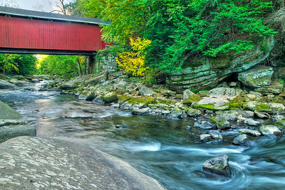 """""""Covered Bridge"""" - McConnell's Mill State Park   Recommended Print sizes*:  4x6  