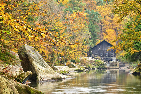 """""""The Old Mill"""" - McConnell's Mill State Park   Recommended Print sizes*:  4x6      8x12     12x18     16x24     20x30     24x36 *When ordering other sizes make sure to adjust the cropping at checkout*  © JP Diroll 2012"""