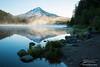 Mt. Hood Reflected in perfect calm Trillium Lake