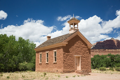 Schoolhouse in a Southern Utah ghost town.