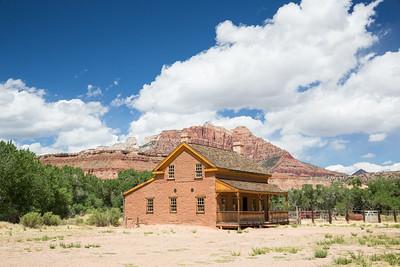 Pioneer settlement home restored in southern Utah ghost town.