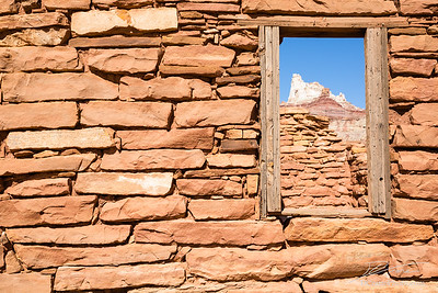 Window to Temple Mountain