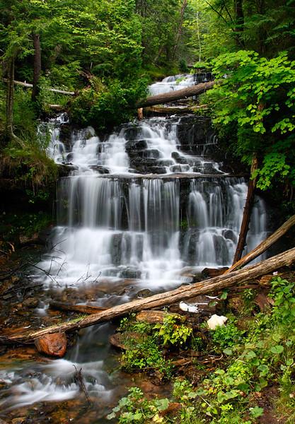 Wagner Falls (Wagner Falls Scenic Site - Munising, MI)