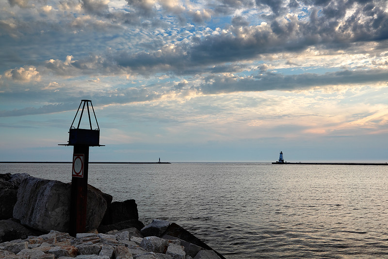 Ludington North Breakwater Lighthouse (Ludington, MI)