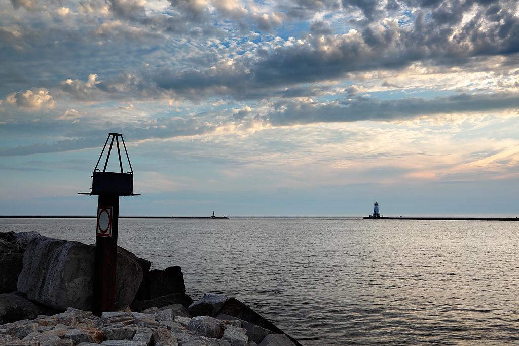 Ludington North Breakwater Lighthouse (Ludington, MI)