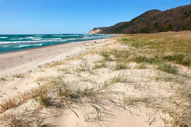 Esch Road Beach - Sleeping Bear Dunes National Lakeshore (Michigan)