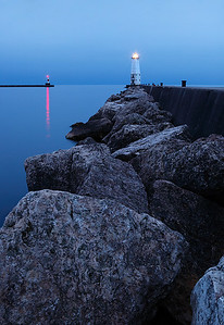 Frankfort North Breakwater Lighthouse (Frankfort, MI)