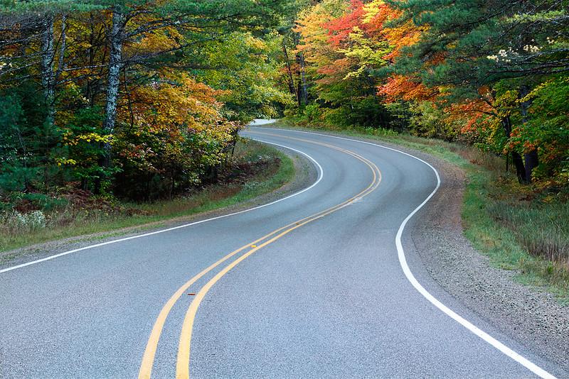 Hiawatha Highway - NF-13 (Hiawatha National Forest - Upper Michigan)