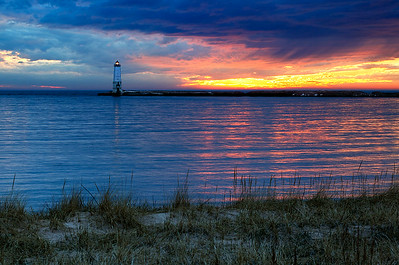 Frankfort North Breakwater Lighthouse (Frankfort, MI)