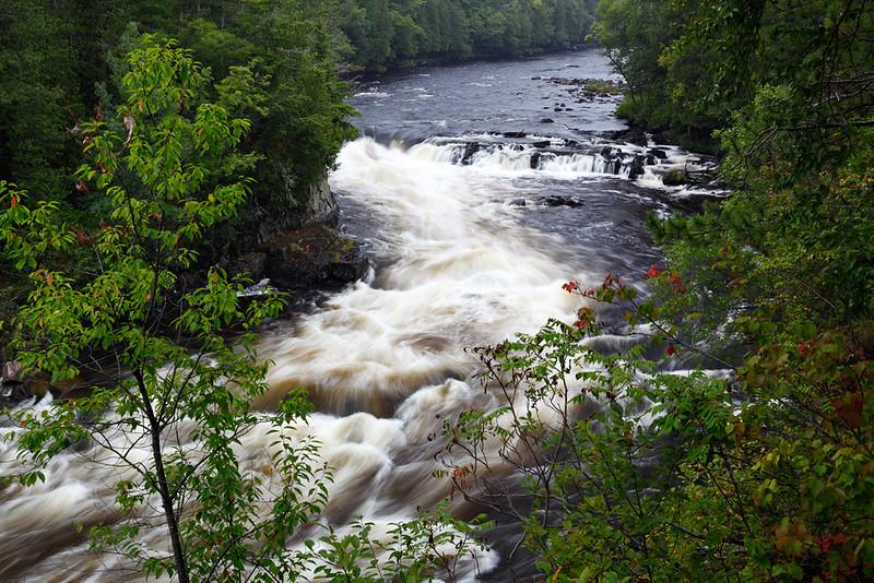Mishicot Falls - Piers Gorge (Menomonee River - Upper Michigan/Wisconsin)