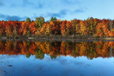 Thornton Lake Fall Colors (Hiawatha National Forest - Upper Michigan)