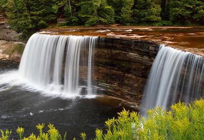 Tahquamenon Falls - Tahquamenon Falls State Park (Upper Michigan)