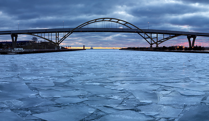 Hoan Bridge - Milwaukee, WI