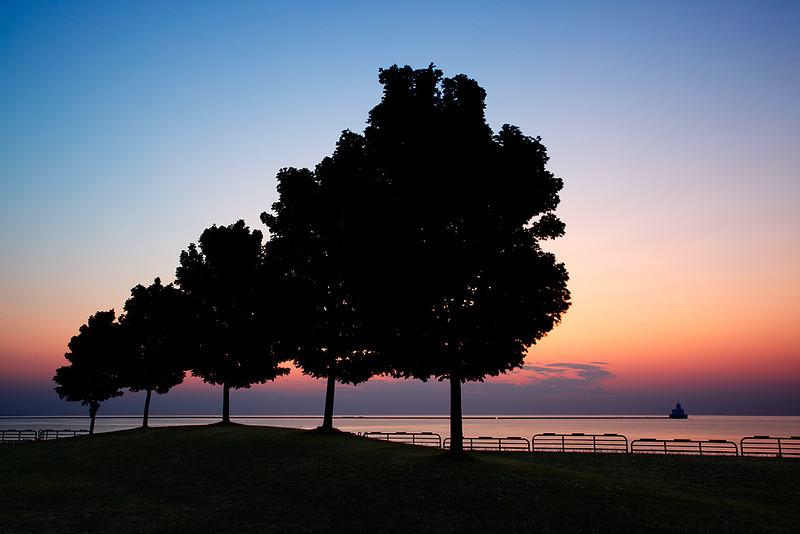 Lakefront Sunrise - Milwaukee, WI