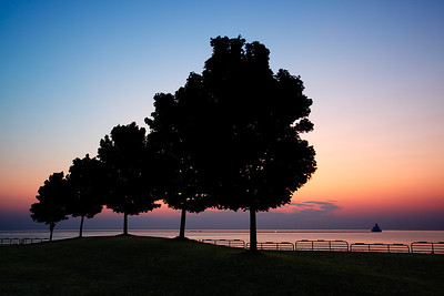 Lakefront Sunrise - Milwaukee, WI