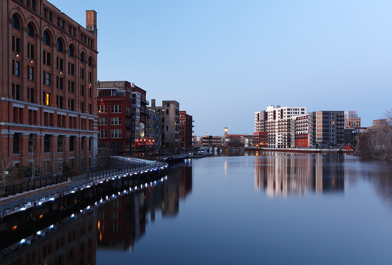 Milwaukee River at Dawn - Milwaukee, WI