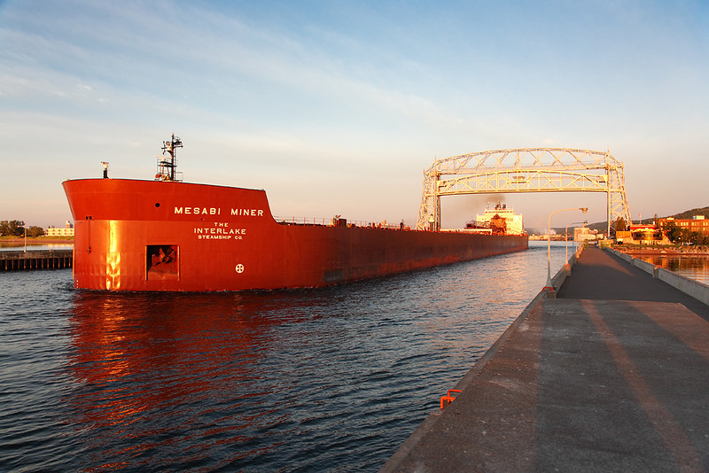 Mesabi Miner - Duluth Harbor