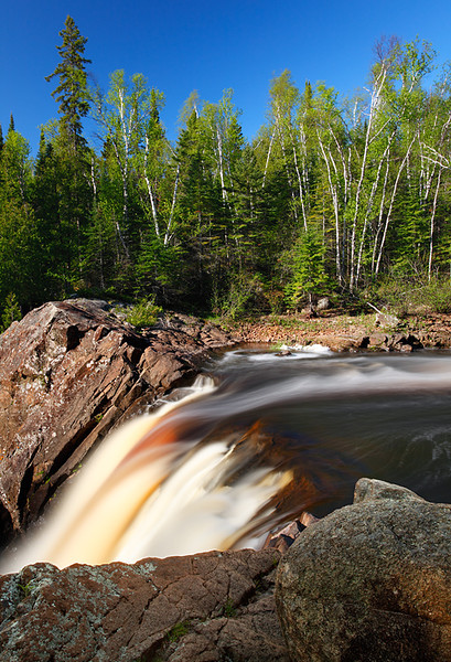 Illgen Falls - Baptism River (Minnesota's North Shore)