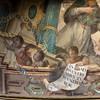 Fresco painting from San Luis de los Franceses church, Seville, Spain