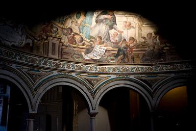 Detail from San Luis de los Franceses church, Seville, Spain
