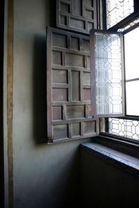 Wall and window, San Luis de los Franceses church, Seville, Spain