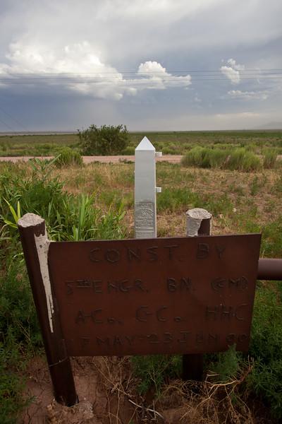NM-2010-207: Carzalia Valley, Luna County, NM, USA