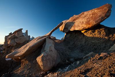 NM-2010-015: Bisti Badlands, San Juan County, NM, USA