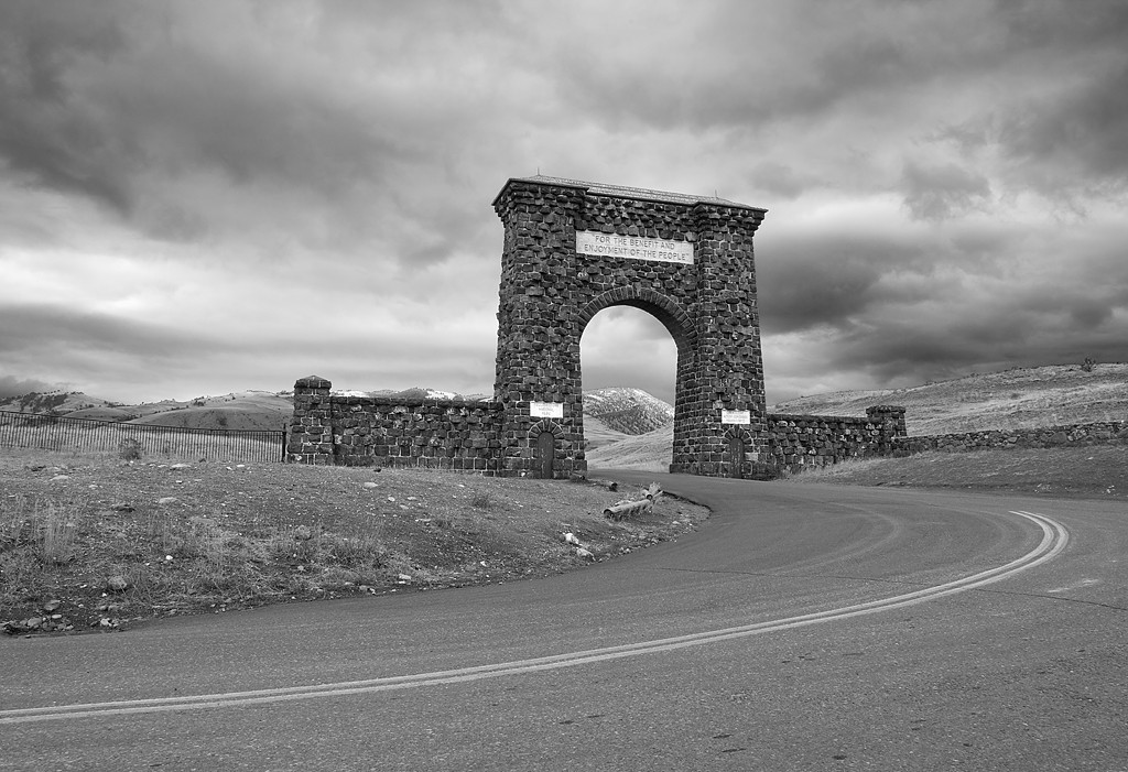 North Entrance - Yellowstone National Park