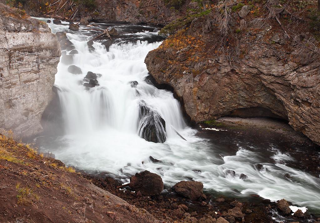 Firehole Falls - Yellowstone National Park