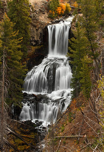 Undine Falls - Yellowstone National Park