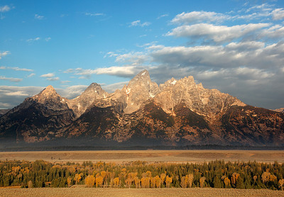 Teton Range - Grand Teton National Park