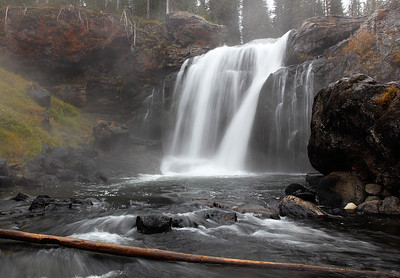 Moose Falls - Yellowstone National Park