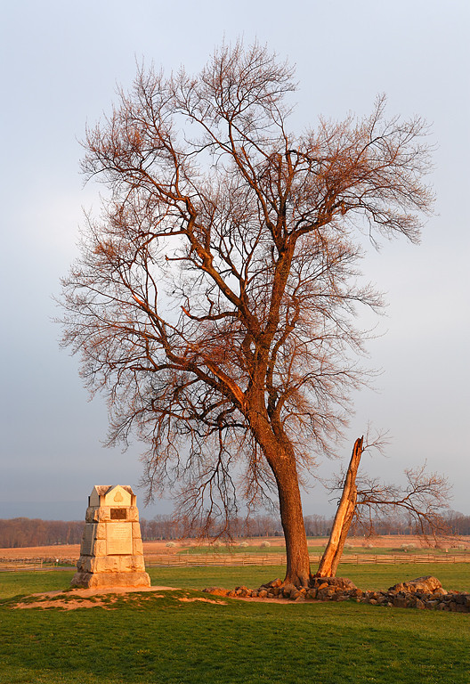 The Angle - Gettysburg National Military Park