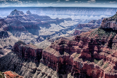 Air Pollution and Haze over the Grand Canyon