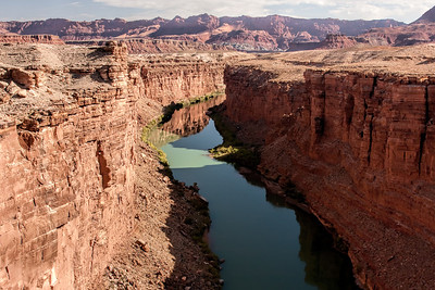 Colorado River at the Bottom of the Grand Canyon