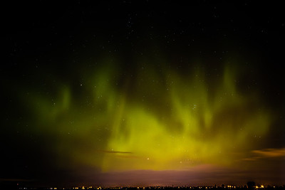 Northern Lights Amped up from Solar Eruption