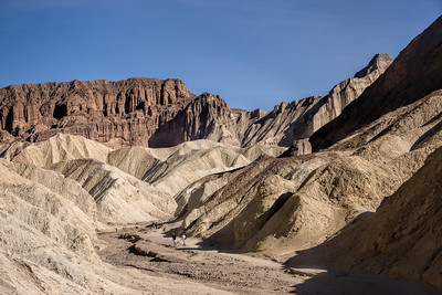 Death Valley's Golden Canyon