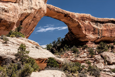 Owachomo Bridge in Natural Bridges National Monument, Utah