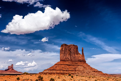 East Mitten at Monument Valley