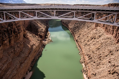 Navajo Bridge over the Grand Canyon