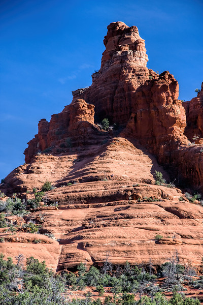 The hiking paths of Bell Rock