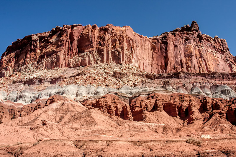 The Castle at Capitol Reef National Park