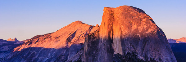 Last Light on Half Dome
