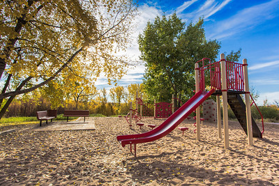 Playground in Autumn